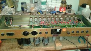 Marshall JCM 800 combo tube amp repair